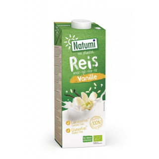 Natumi Reis Drink Vanille 1l Tetra Pack