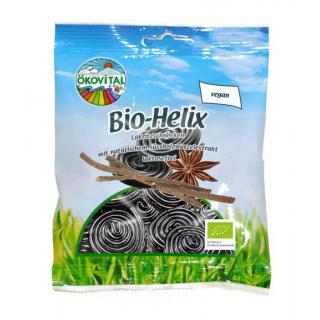 Ökovital Bio Helix 100g Packung (Lakritzschnecken)