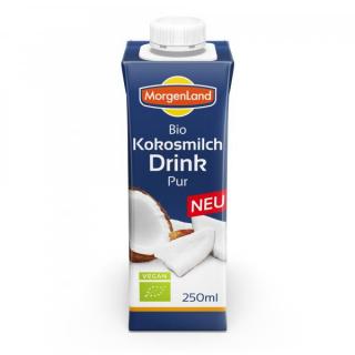 Morgenland Kokosmilch Drink Pur 250ml Stück
