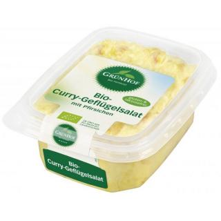 Grünhof Curry Geflügelsalat 125g Becher