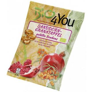 Bio4you Sanddorn-Granatapfel 75g Packung