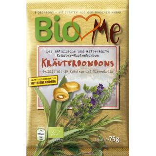 Bio4you Kräuter Bonbons 75g Packung