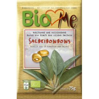 Bio4you Salbei Bonbons 75g Packung