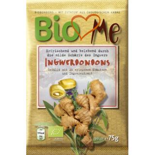 Bio4you Ingwer Bonbons 75g Packung