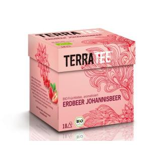 Terra Tee Erdbeer Johannisbeer 2,5g 18 Btl Packung