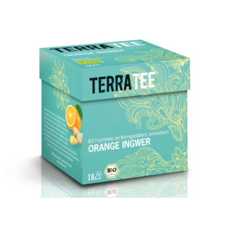Terra Tee Orange Ingwer 2,5g 18 Btl Packung