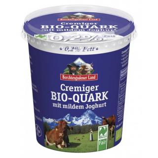 Berchtesg Cremiger Quark mit Joghurt verfeinert 350g Becher