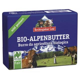 Berchtesg Bio Alpenbutter mild gesäuert 250g Stück
