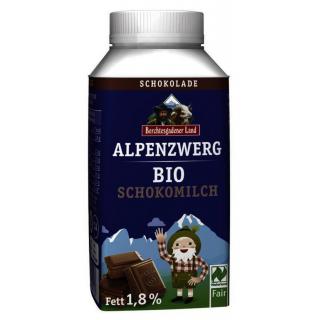 Berchtesg Alpenzwerg Schokomilch 250g Tetra