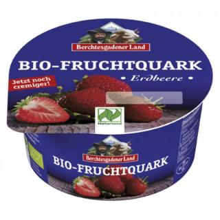 Berchtesg Fruchtquark Erdbeere 150g Becher