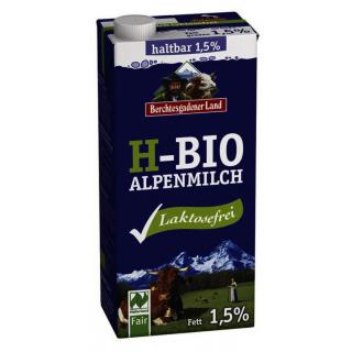 Berchtesg H-Milch 1,5% 1l Tetra Pack -laktosefrei-