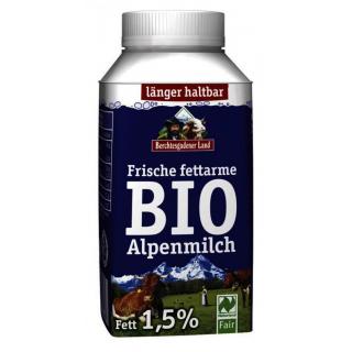 Berchtesg Alpenmilch fettarm 250ml Packung - homogenisiert -