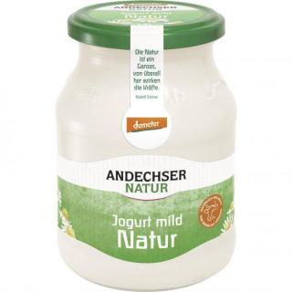 Andechser Natur Demeter Joghurt mild 500g Glas
