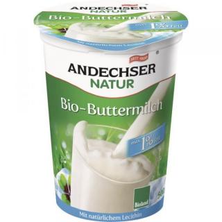 Andechser Natur Buttermilch 500g K3-Becher