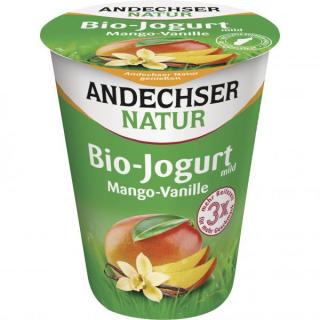 Andechser Joghurt Mango Vanille 400g Becher