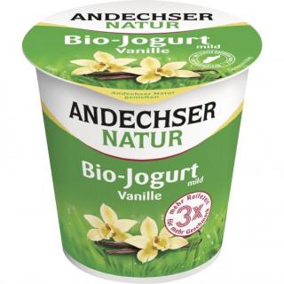 Andechser Natur Fruchtjogurt Vanille 150g Becher