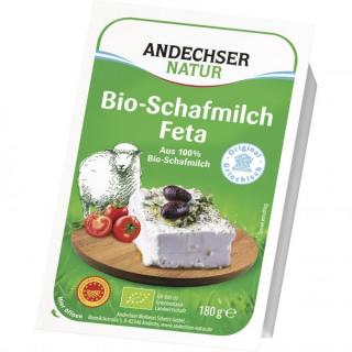 Andechser Schafmilch-Feta 180g Packung