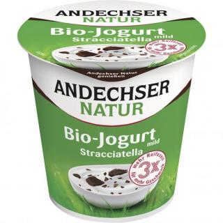Andechser Natur Fruchtjogurt Stracciatella 150g Becher