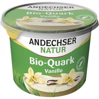 Andechser Natur Fruchtquark Vanille 450g Becher