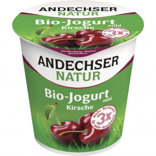Andechser Natur Fruchtjogurt Kirsche 150g Becher