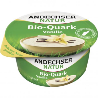 Andechser Natur Fruchtquark Vanille 150g Becher