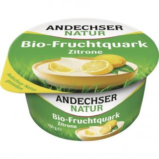Andechser Natur Fruchtquark Zitrone 150g Becher