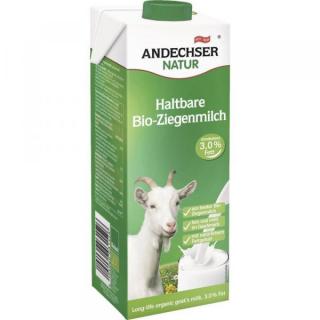 Andechser H-Ziegenmilch 3,0% 1l Tetra Pack