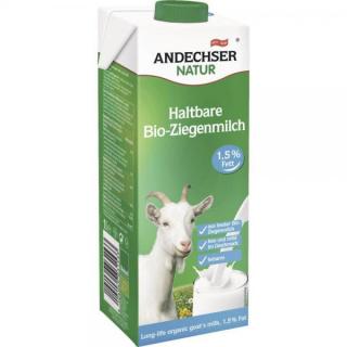 Andechser H-Ziegenmilch 1,5% 1l Tetra Pack