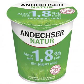 Andechser Jogurt mild aktiv 1,8% Becher 150g Becher