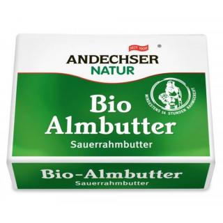 Andechser Natur Sauerrahm Almbutter 250g Stück