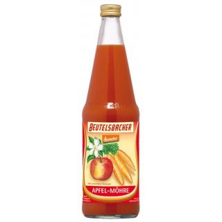 Beutelsbacher Apfel Möhrensaft 0,7l Flasche