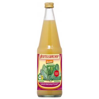 Beutelsbacher Sauerkrautsaft milchsauer 0,7l Flasche