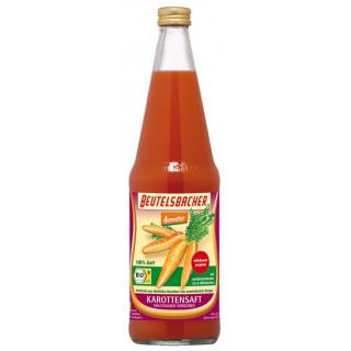 Beutelsbacher Karottensaft Rodelika milchsauer 0,7l Flasche