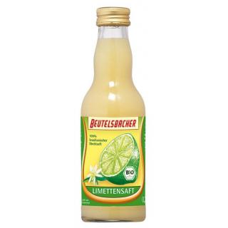 Beutelsbacher Limettensaft 0,2l Flasche