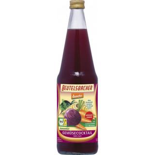 Beutelsbacher Gemüsecocktail samenfest milchsauer demeter 0,7l Flasche