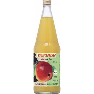 Beutelsbacher Apfel Direktsaft naturtrüb 1l Flasche