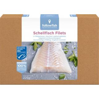 followfish Schellfisch 225g Packung