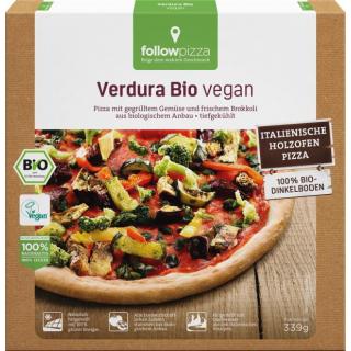 followfood Dinkel-Pizza Verdura vegan 339g Schachtel