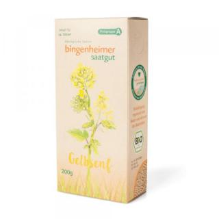 Bingheimer Gründüngung Gelbsenf 200 g Packung