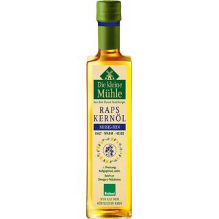 Die Kleine Mühle Raps-Kernöl  extra mild  0,5l Flasche