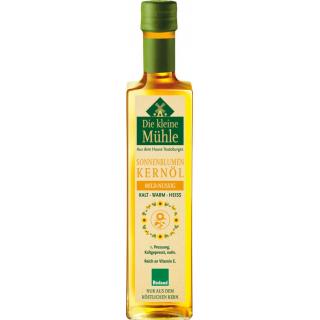Die Kleine Mühle Sonnenblumen-Kernöl mild-nussig 0,5l Flasche