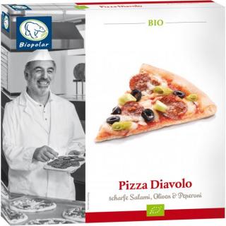 Biopolar Pizza Salami-Diavolo 350g Schachtel
