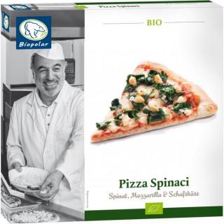 Biopolar Pizza Spinaci 350g Schachtel