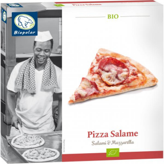 Biopolar Pizza Salame 330g Schachtel