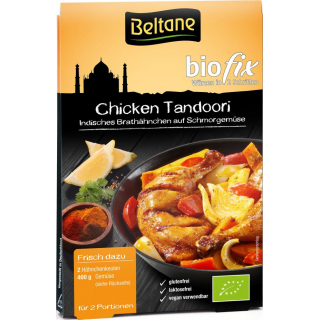 Beltane biofix Chicken Tandoori 21,5g Beutel