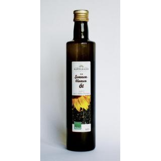 Kappelbauer Sonnenblumenöl 500ml Flasche aus Bayern