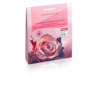 sensena Aromabadekissen -Zauber der Rose- 60g Packung