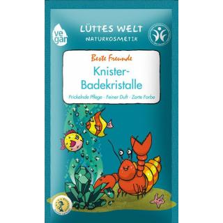 Lüttes Welt Knister-Badekristalle Beste Freunde 80g Stück