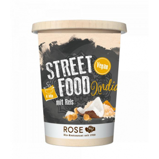 Rose Biomanufaktur Street Food India mit Reis 350ml Becher