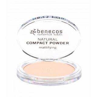 benecos Compact Powder porcelain 9g Dose